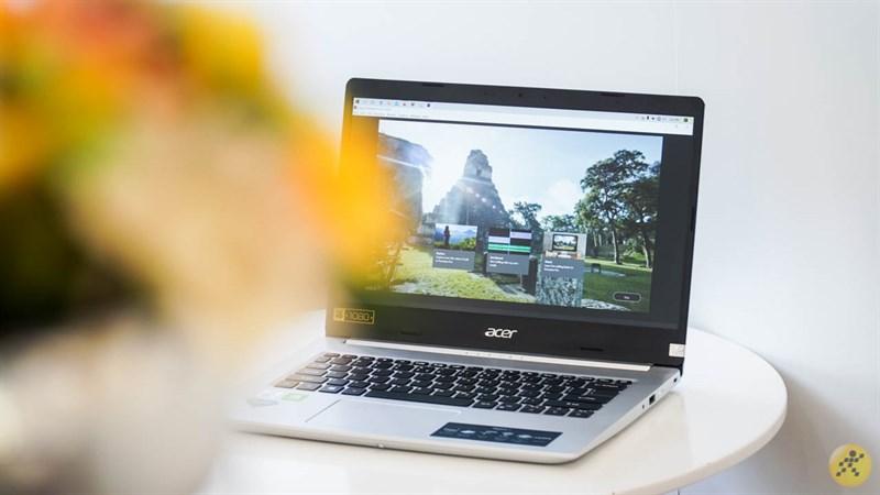 Thiết kế tổng thể của Acer Aspire A514