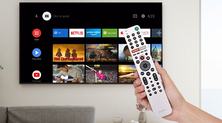 Remote Tivi Sony OLED A9S 48 inch