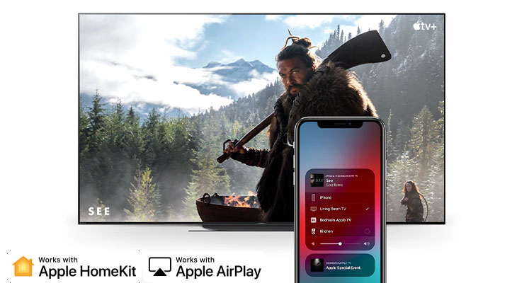 Tivi OLED Sony 48A9S - Apple Homekit và Apple Airplay