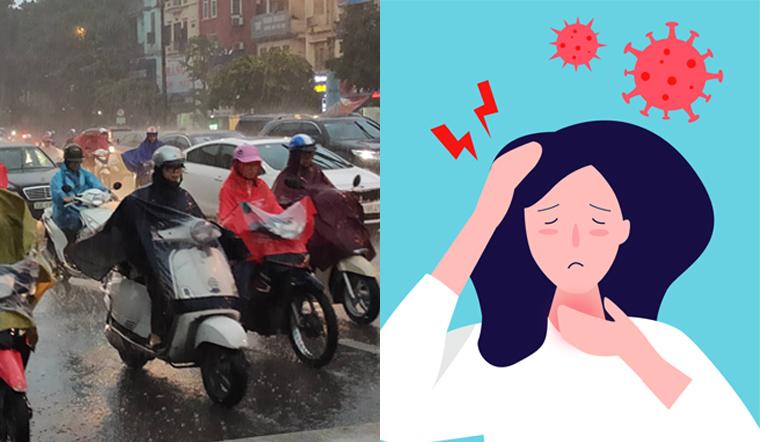 Bị mắc mưa chớ nên xem thường kẻo hối hận. Những việc cần làm ngay sau khi đi mưa về nhà