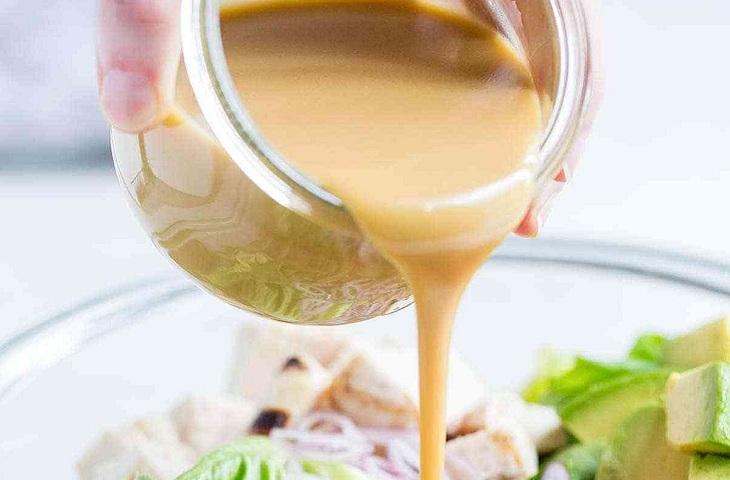 Honey mustard dressing (sốt mù tạc mật ong)