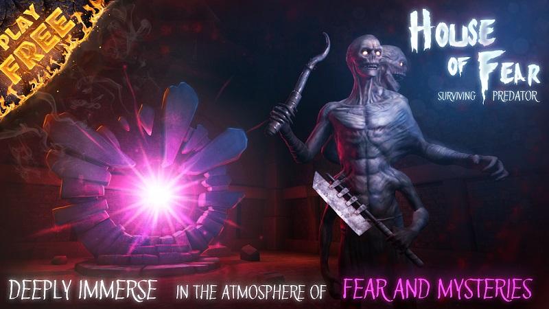 Hình ảnh trong game House of Fear