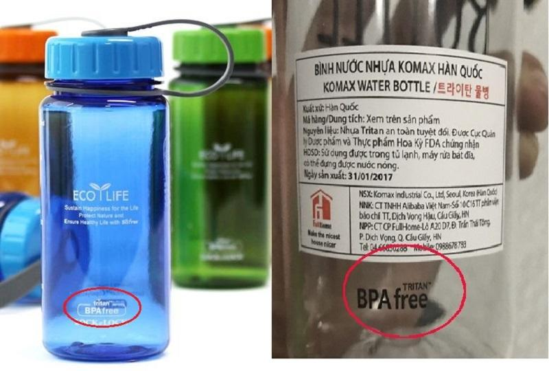 BPA free là gì?