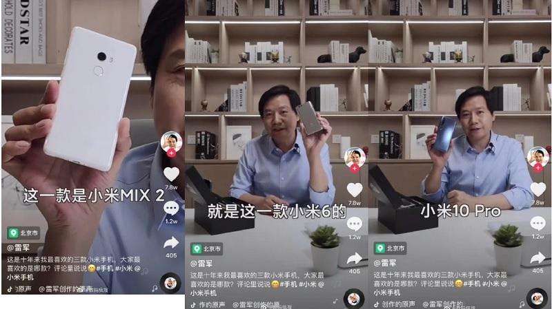 Giám đốc điều hành Xiaomi chia sẻ 3 chiếc điện thoại yêu thích của mình,. Các bạn đoán được là những smartphone nào không?