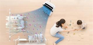 Tính năng hút ẩm trên máy lọc không khí Sharp là gì?