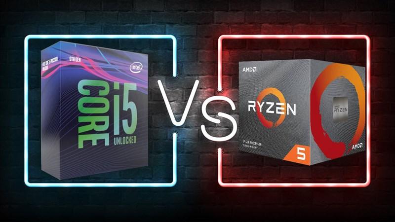 Core i5 vs Ryzen 5