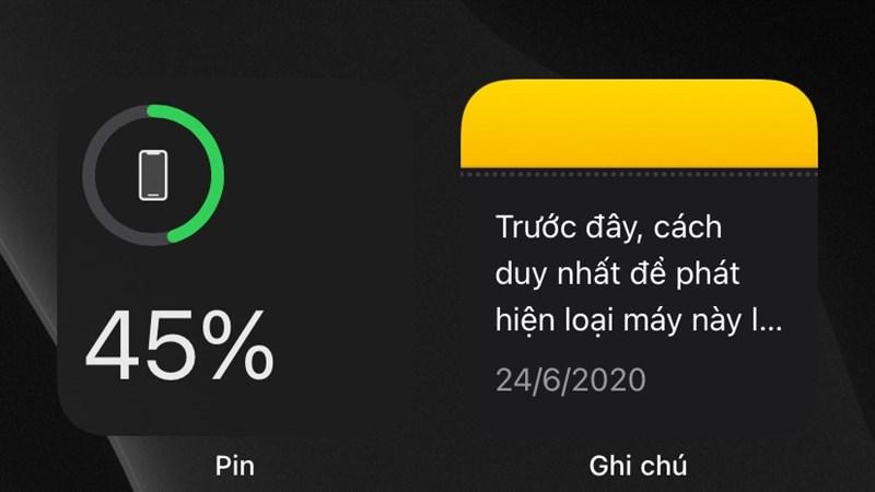 Hướng dẫn bật hiển thị phần trăm Pin iPhone ngay cả trên iOS 14