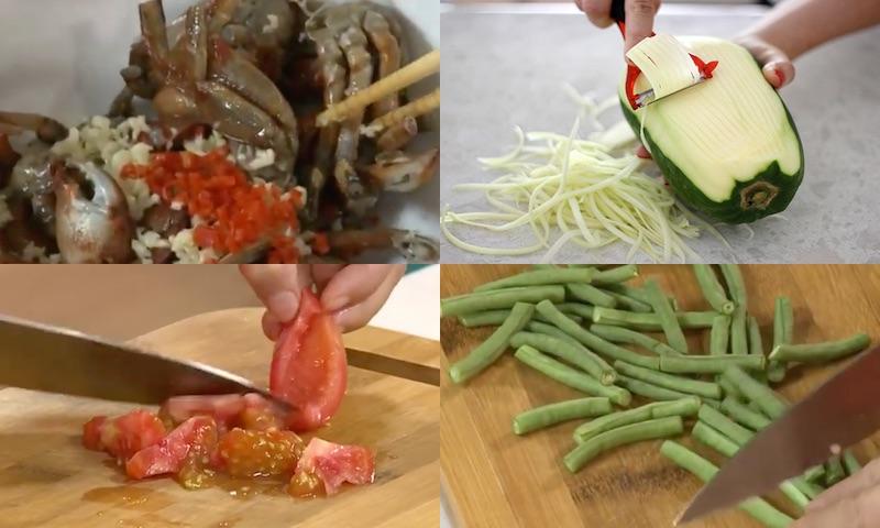 Học người Thái cách làm món gỏi đu đủ ba khía đậm đà chua cay