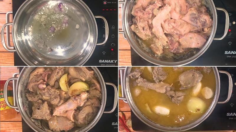 Nấu lẩu