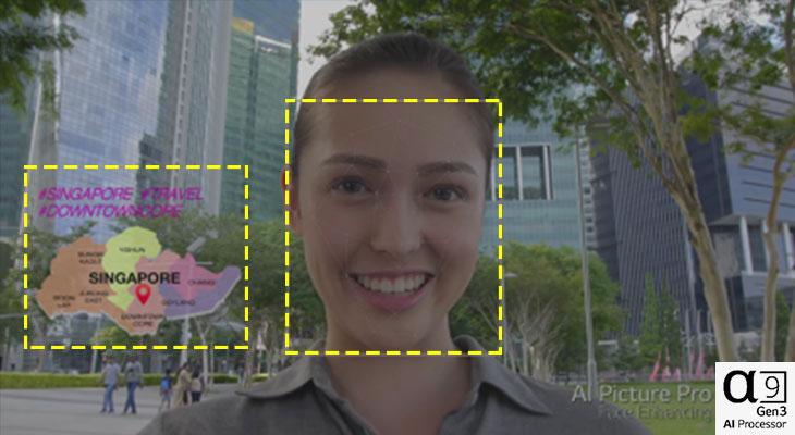 Tính năng AI Picture Pro của Alpha 9 Gen 3