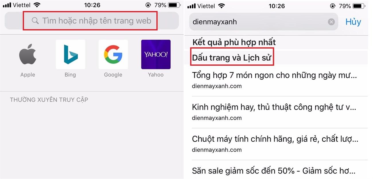 Tìm kiếm Tab bằng keyword