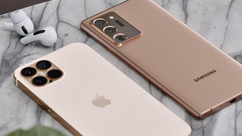iPhone 12 Pro và Galaxy Note 20 Ultra