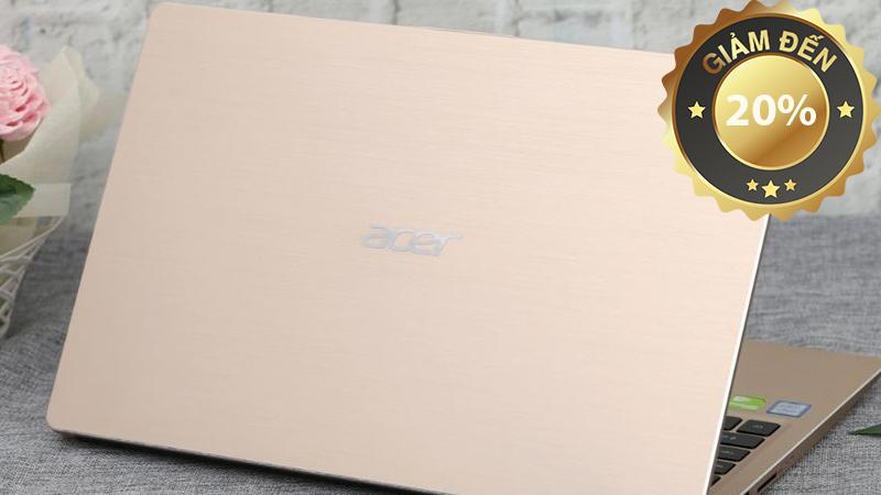 Laptop Acer Swift 3 SF315 52 38YQ i3 8130U/4GB/1TB/Win10