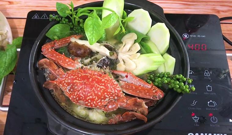 Học ngay cách nấu lẩu ghẹ thơm ngon cho bữa cơm cuối tuần thêm vui