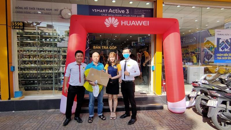 Mở bán Huawei MateBook D 15