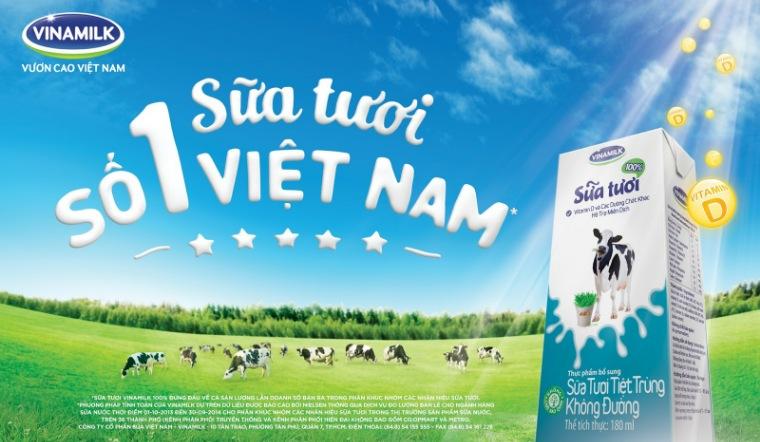 Vinamilk - Thương hiệu sữa tươi hàng đầu Việt Nam có những loại nào?