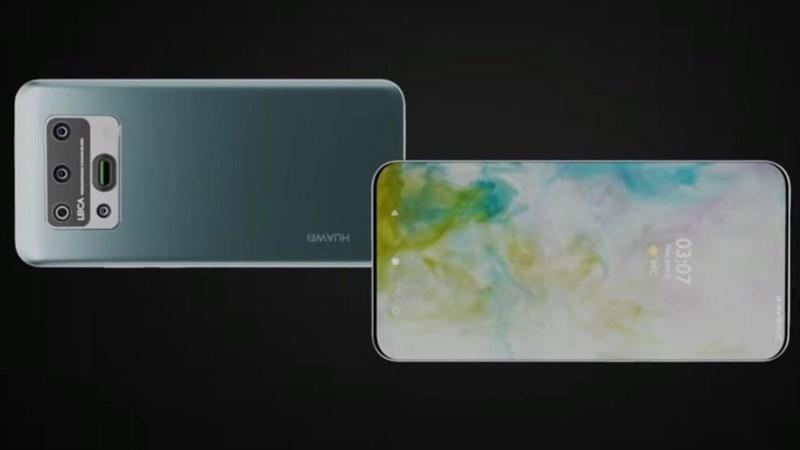 Chiêm ngưỡng mẫu thiết kế Huawei P50 Pro 5G với màn hình không viền, 5 camera 108MP, hỗ trợ zoom quang 10x