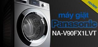 Giặt diệt khuẩn bằng nước lạnh? Đánh giá chi tiết máy giặt Panasonic NA-V90FX1LVT