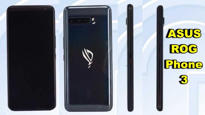 ASUS ROG Phone 3 được cơ quan NCC của Đài Loan chứng nhận có dung lượng pin và bộ nhớ trong rất cao