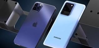 """""""So kè"""" iPhone 12 Pro Max và Samsung Galaxy Note 20 Ultra: Đâu là bá chủ làng smartphone?"""