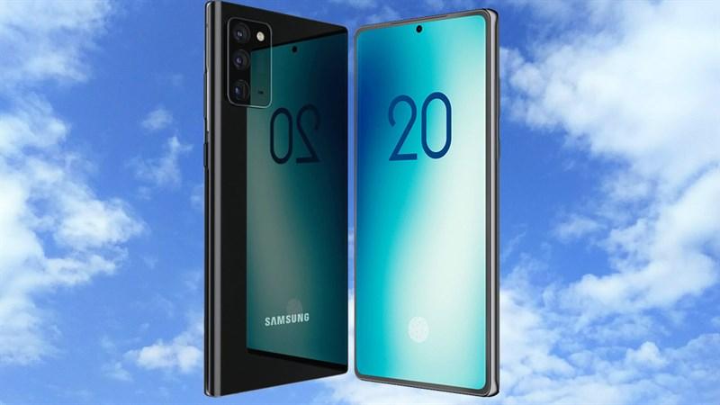 Siêu phẩm Galaxy Note 20 lộ ảnh báo chí sắc nét với 3 camera mặt sau, viền cạnh màn hình rất hẹp và cân đối