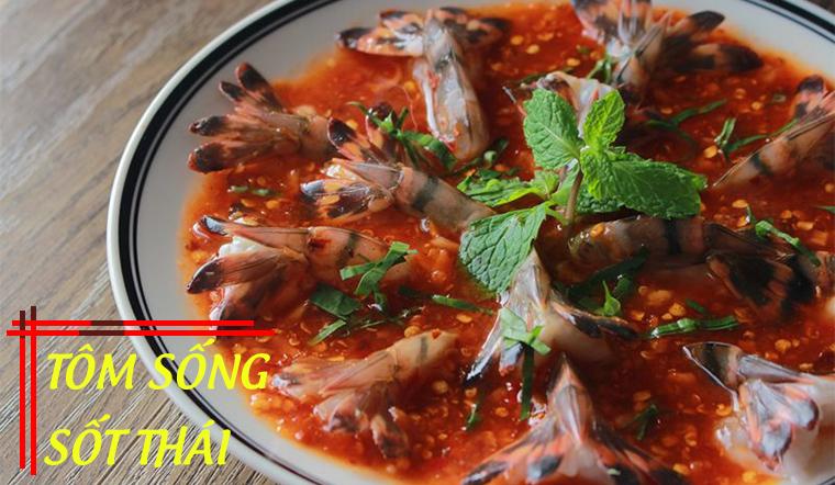 Cách làm tôm sốt Thái tại nhà ngon tê tái, ăn một lần là nhớ mãi