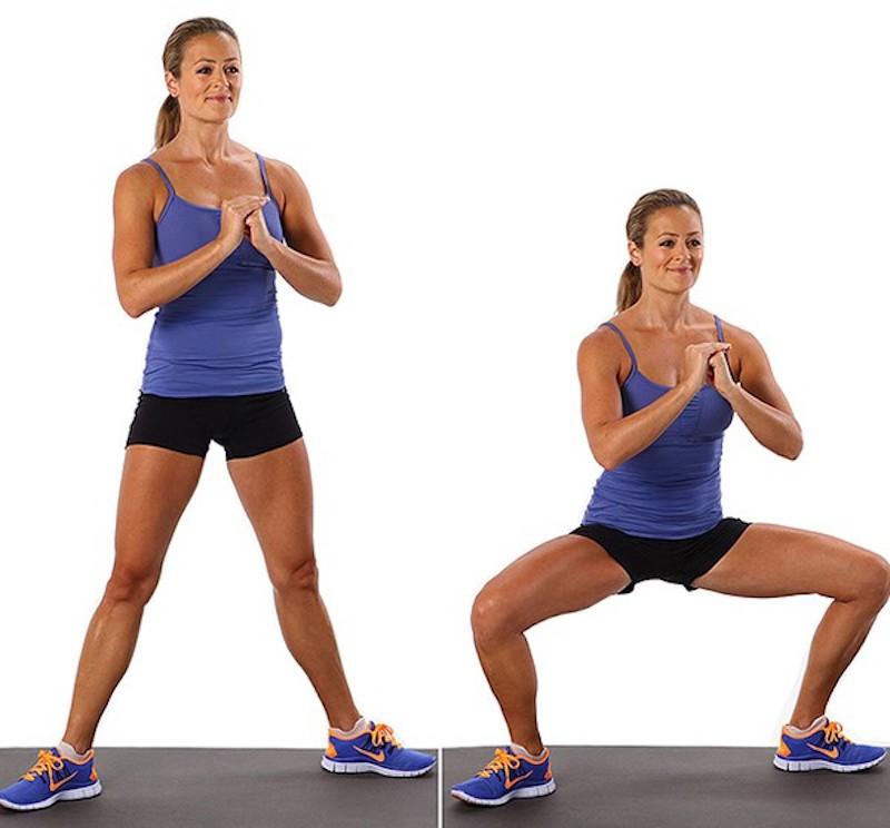 Bài tập số 1 giúp thon gọn bắp chân