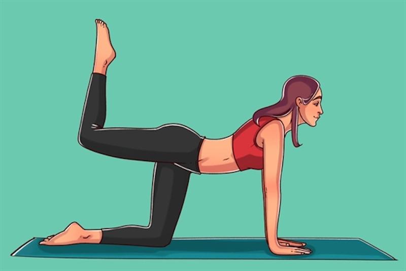 6 bài tập thu gọn bắp chân - Bài tập số 6 giúp thon gọn bắp chân