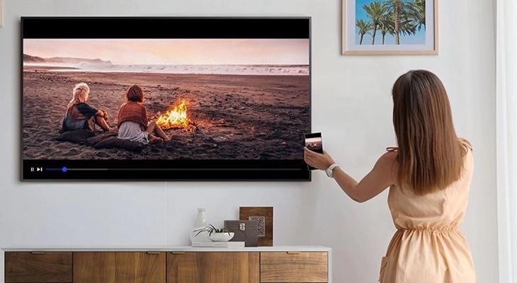Hướng dẫn sử dụng tính năng Tap View trên tivi Samsung