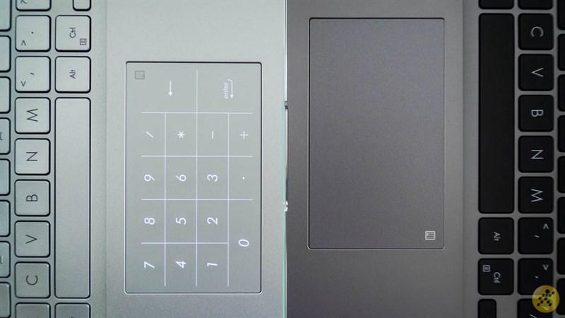 bàn di chuột của bộ đôi ASUS VivoBook S14