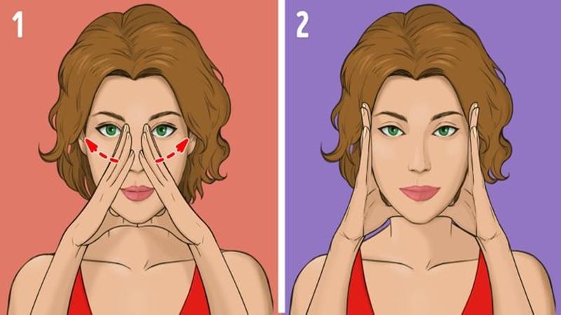 Phương pháp mát xa Nhật Bản - Massage vùng chữ A