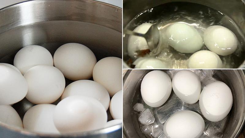 Tổng hợp các cách luộc trứng lòng đào siêu ngon, trứng chỉnh