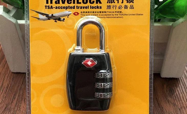 Kết cấu bên trong của ổ khóa số TSA sẽ phức tạp hơn và không dễ dàng phá khóa như kiểu khóa số thông thường