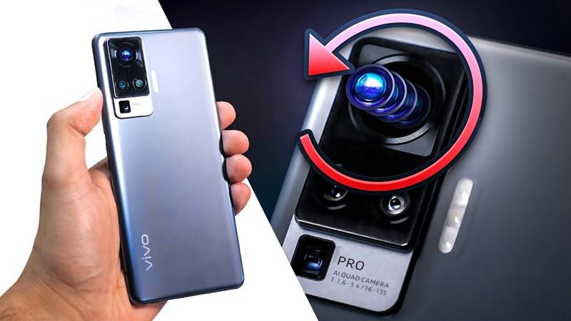 Vivo X50 Pro sở hữu camera Gimbal mạnh mẽ