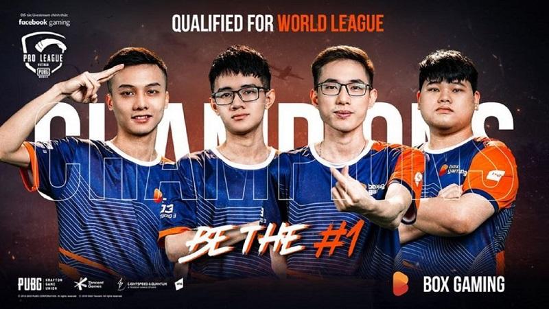Đội Box Gaming tại giải World League