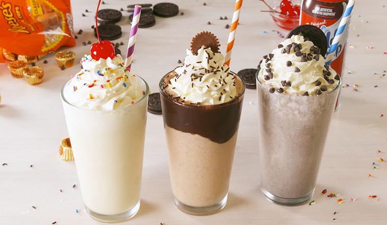 Sữa lắc: Cách làm sữa lắc (Milkshake) thơm ngon béo ngậy