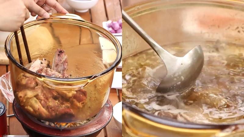 Nấu thịt vịt