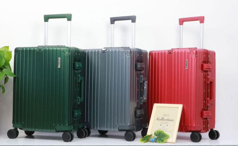 Các chất liệu vali kéo phổ biến nhất hiện nay | Nhôm