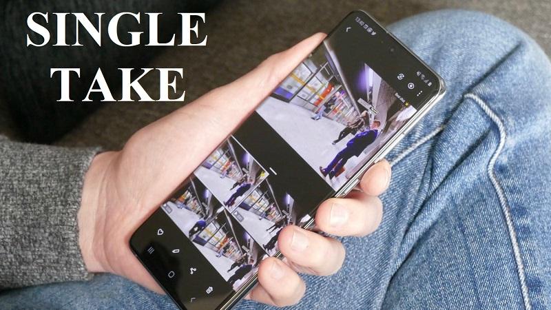 Tính năng chụp ảnh một chạm độc quyền trên các thiết bị Samsung