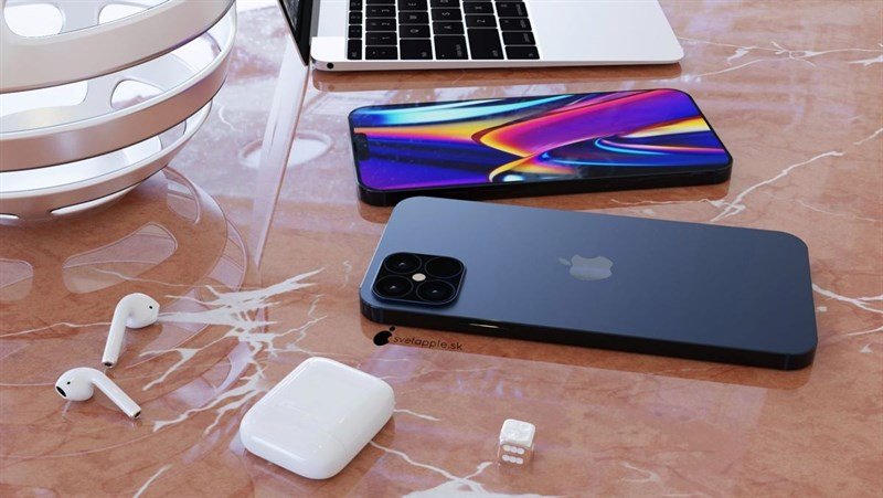 iPhone 12 Pro sẽ được tích hợp màn hình với tốc độ làm tươi 120Hz, loa ngoài được cải tiến chất lượng âm thanh