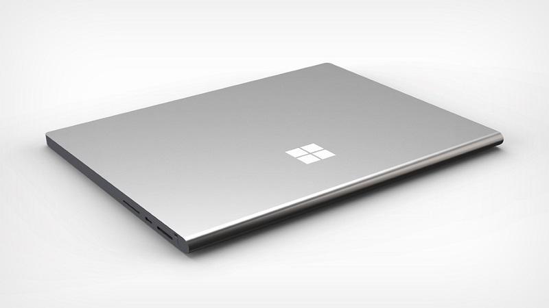 Ảnh minh hoạ Surface Book 4 của nhà thiết kế Ryan Smalley