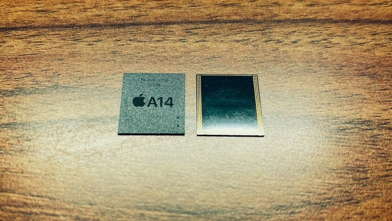 Xuất hiện hình ảnh thực tế bộ nhớ RAM gắn trên chip Apple A14, vi xử lý sẽ có mặt trên dòng iPhone 12 sắp ra mắt