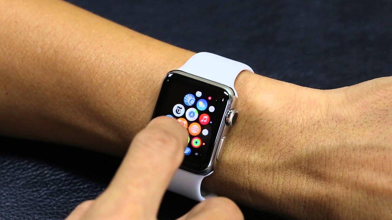 Chụp màn hình trên Apple Watch