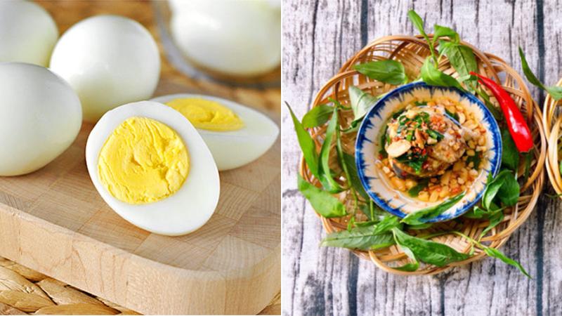 Trứng thường và trứng vịt lộn loại nào bổ hơn?
