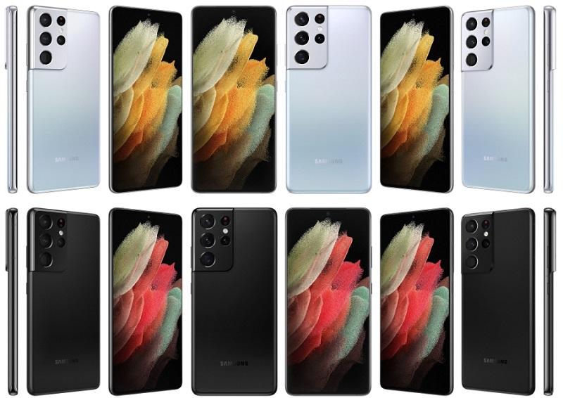 Bộ màu sắc của Samsung Galaxy S21 Ultra