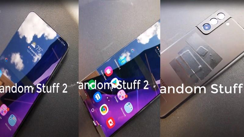 Hình ảnh thực tế của Samsung Galaxy S21