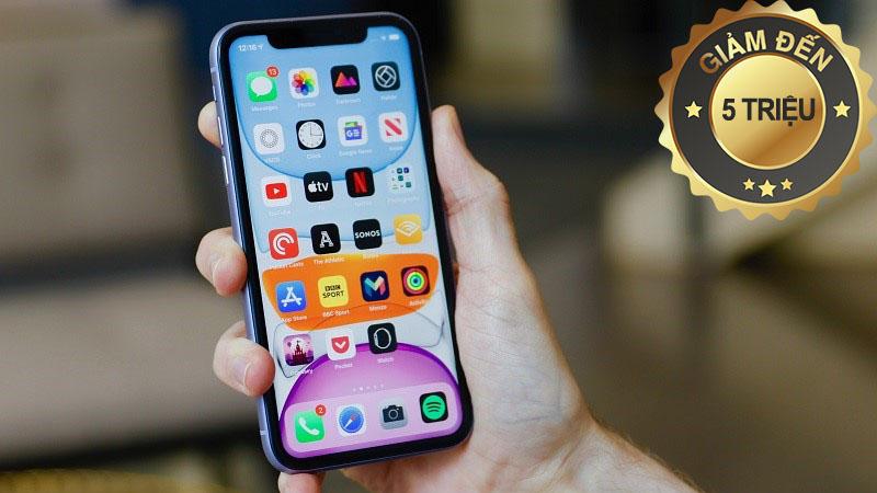 iPhone giảm giá cực đã
