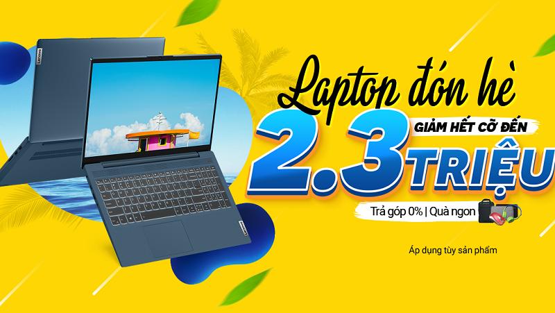 Khuyến mãi laptop tháng 8