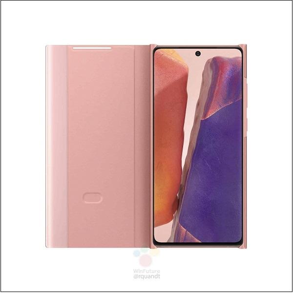 Ốp lưng Samsung Galaxy Note 20 Ultra cũ lộ diện rõ nét - 286852