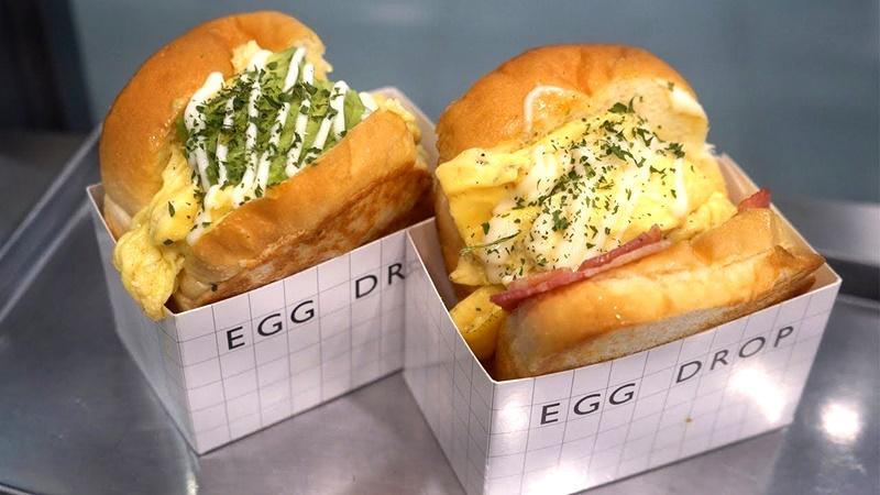 Cách làm sandwich trứng Egg Drop cực hot ở Hàn Quốc